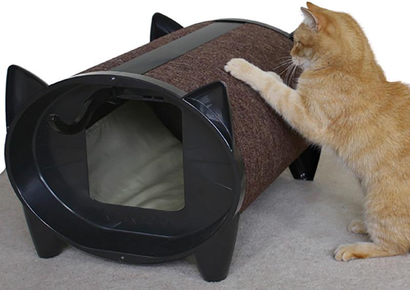 KatKabin - Cat Scratching